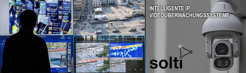 Moderne IP-Videoüberwachungssysteme